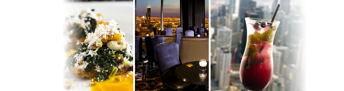 High-Dining Lite Fare - The Signature Lounge at the 96th ...